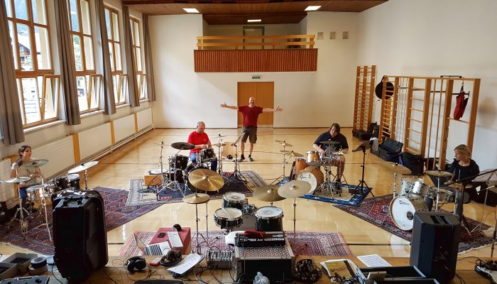 Felbermayer Montafon Musik Workshops drummers holiday Groove Masterclass