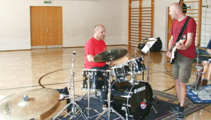 Felbermayer Montafon Musik Workshops drummers holiday Groove Masterclass6